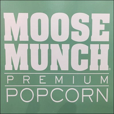 Harry-&-David Moose Munch Popcorn Display