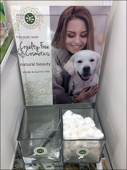 Cruelty-Free Marketing - Honeybee-Gardens Cruelty-Free Cosmetics Amenities