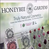 Honeybee-Gardens Natural Cosmetics Display