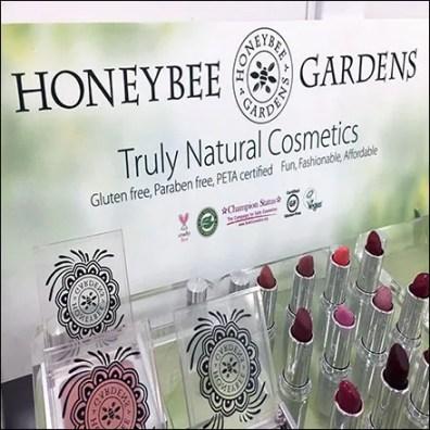 Honeybee-Gardens Natural Cosmetics Display