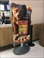 Lion-King-Toy Sign Stand Premium