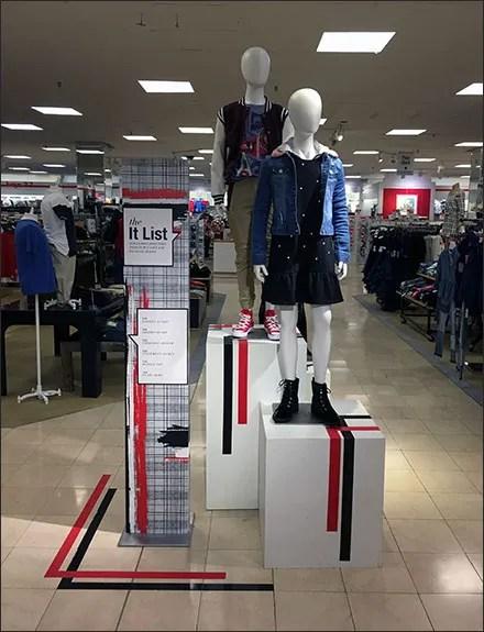 It-List Girl's-Varsity Visual Merchandising