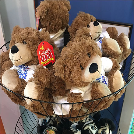 Cuddle-Zoo Plush-Toy Wire-Basket Towers