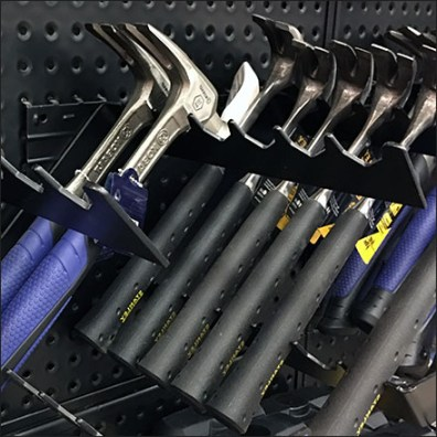 Claw Hammer Perforated-Metal-Merchandising