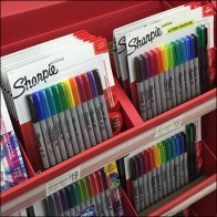 Sharpie Back-To-School Savings Island Display Aux