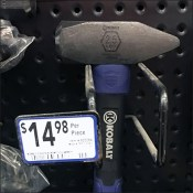 Sledge Hammer Perforated-Metal-Merchandising