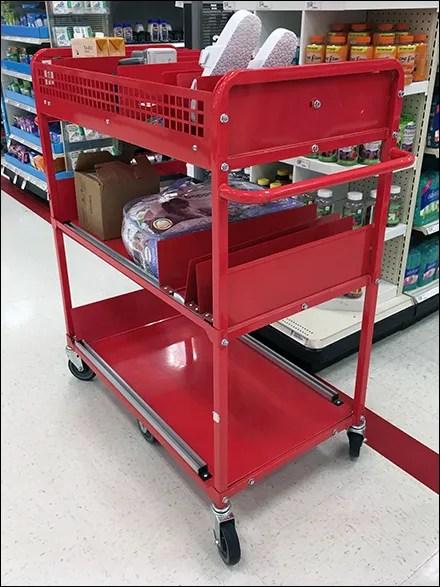 Target Utility Cart Restocking Duty