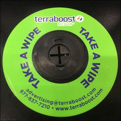 TerraBoost Take A Wipe Self Promotion Aux