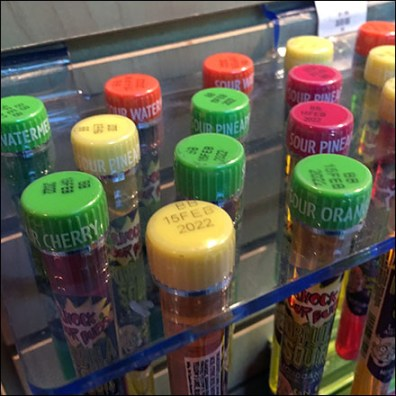 Test-Tube Color-Coded Caps Feature