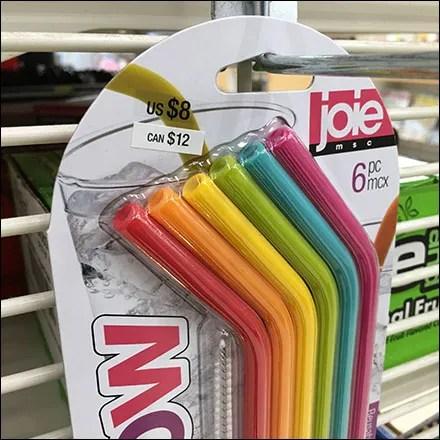 """Rainbow Straws !"""" Grid Hook Display"""