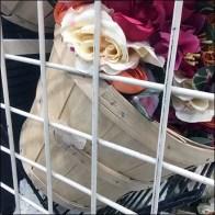 Gridwall Bushel Basket Floral Merchandising
