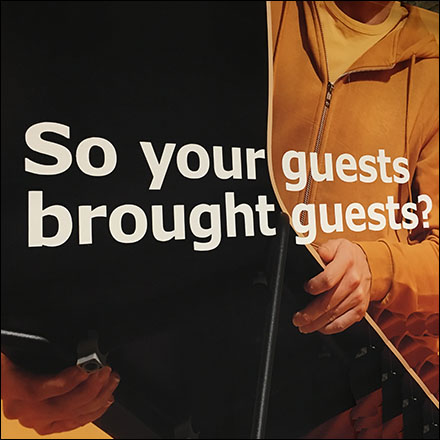 Furnishing Your Guests' Guests Proposition