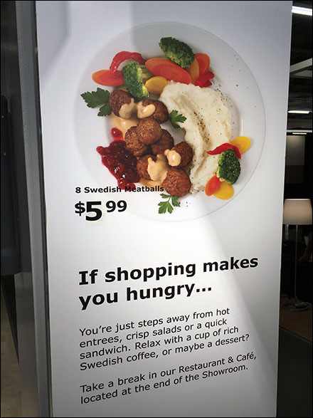 Swedish Meatball Platter Special At IKEA