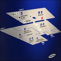 Two-Story IKEA Store Navigation Map