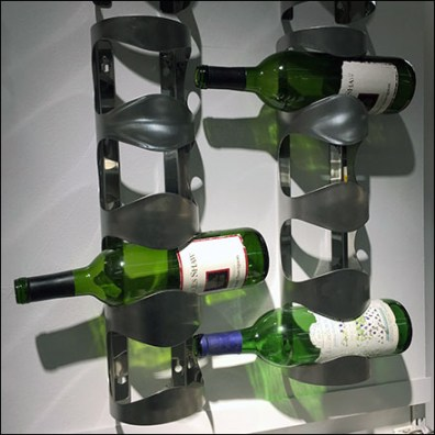 IKEA Wine-Rack Endcap Merchandising Feature