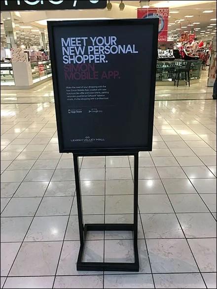 Personal Shopper Mobile App Mall Invitation