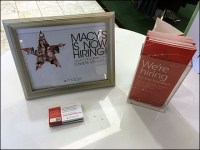 Macy's Store-Entry Hiring Table Outfitting