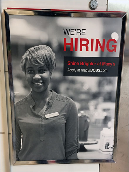 Macy's Shine Brighter Hiring Proposition