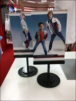 Tommy Hilfiger Twin-Table-Top-Signs