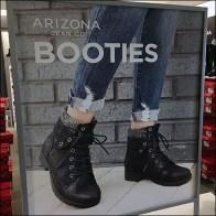 Arizona-Jean Booties Countertop Display