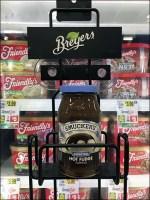 Breyers-vs-Smuckers Cooler-Door Rack