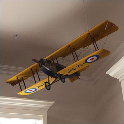 Carter's Vintage-Biplane Visual Merchandising Prop