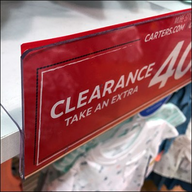 Clearance Shelf-Overlay Shelf-Talker