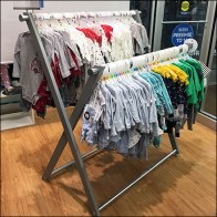 Carter's X-Shape Hangrail Apparel Rack