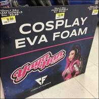 DIY Yaya-Han Cosplay Theatrical Foam Endcap