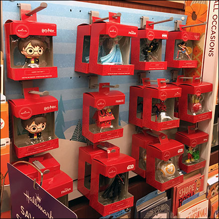 Hallmark Christmas Ornament Butterfly-Hook Display