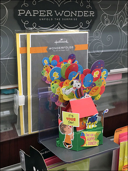 Hallmark Pop-Up Greeting-Card Diorama Shelf