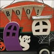 Halloween Trailer Park Prop Merchandising