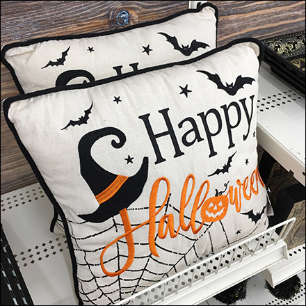 Happy-Halloween Pillow Shelf-Edge Fencing