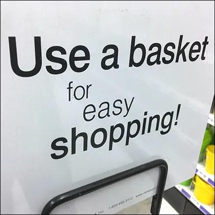 Party-City Large-Size Shopping Basket