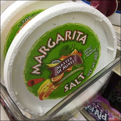 Margarita-Salt Shelf-Edge Acrylic Tray
