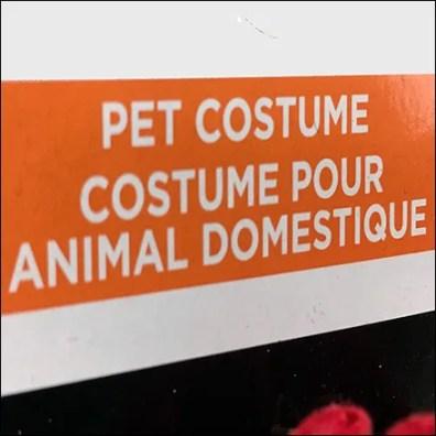 Hot Dog Costume-Pour-Animal-Domestique