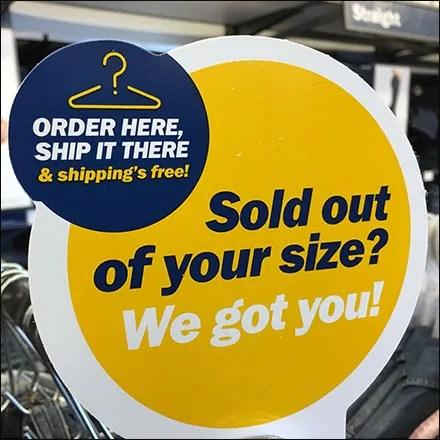 Order-Here-Ship-There Hangrail Door Hanger