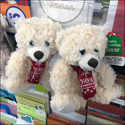 In-Line Plush Teddy-Bear Merchandising