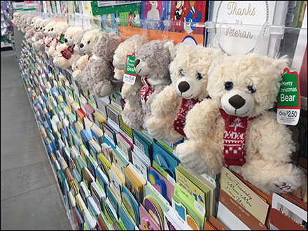 Plush Teddy-Bear In-Line Merchandising