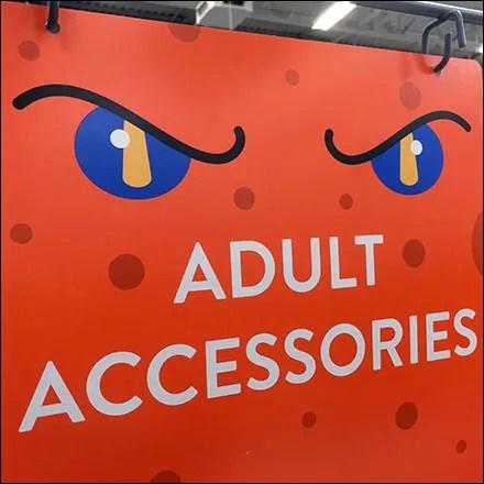 Adult Accessories Halloween Merchandising