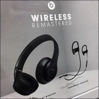 Beats Wireless-Remastered Headphone Display