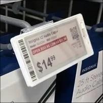 Electronic-Price-Tag Scanning Hook Mount