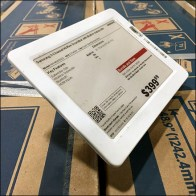 Electronic-Price-Tag Shallow Acrylic-Easel