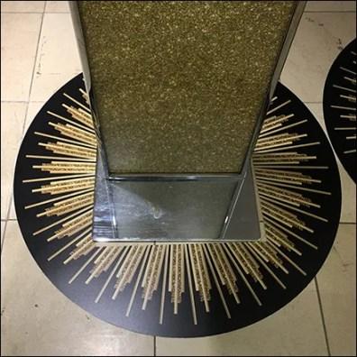 Foundational Good-Girl Fragrance Floor Graphic