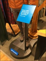 Cold-and-Miserable Columbia Sportswear Display