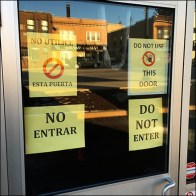 Do Not Use This Door Ever Feature