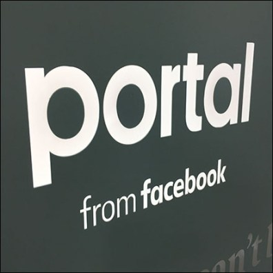 Facebook Portal-Video Endcap Display