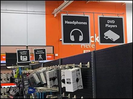 Walmart Overhead Headphone Category Definition