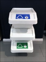 IKEA Stackable Office-Supply Recycling Bins