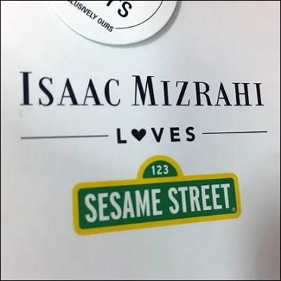 Isaac Mizrahi Designer Attribution Hang-Tag